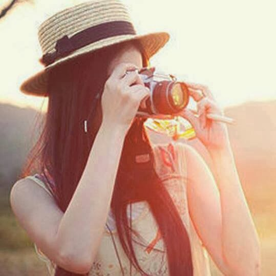 girl with camera profile pictures dp for whatsapp facebook