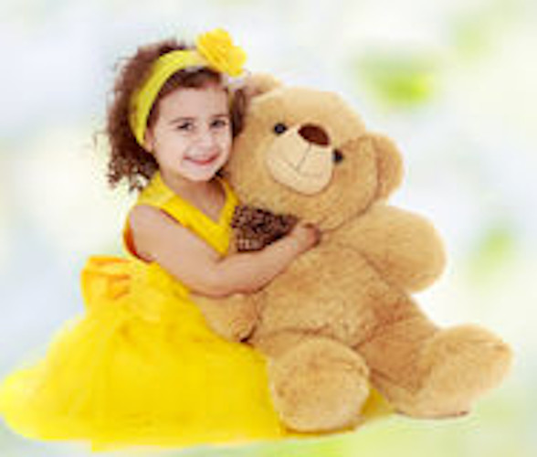 girl with teddy bear profile pictures