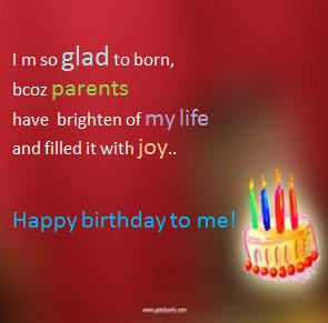 happy birthday to me, my birthday status profile pics
