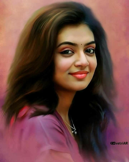 celebrities portraits painting profile pics dp for whatsapp, facebook
