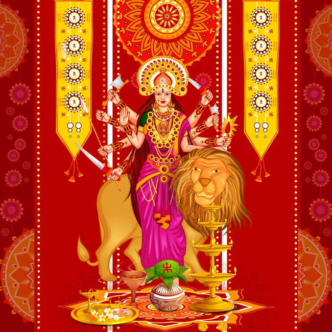 Navratri Dp for Whatsapp