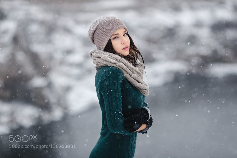 winter girls dp