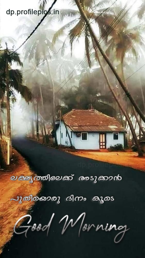 good morning status malayalam